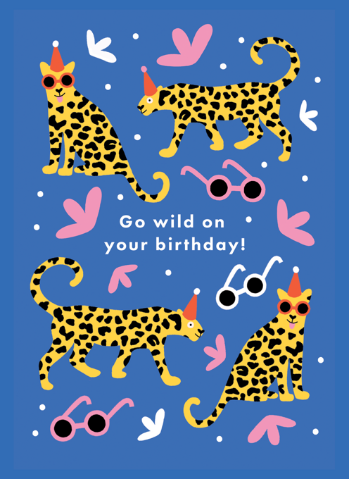 Wild Leopard Birthday