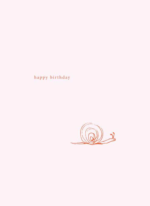 Birthday Snail