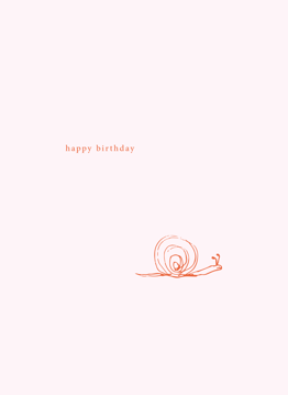 Birthday Snail