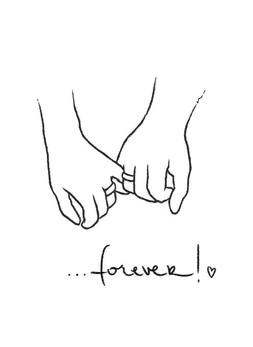 Wedding Card - Forever