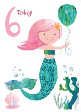 Age 6 Mermaid