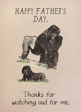 Gorilla Dad