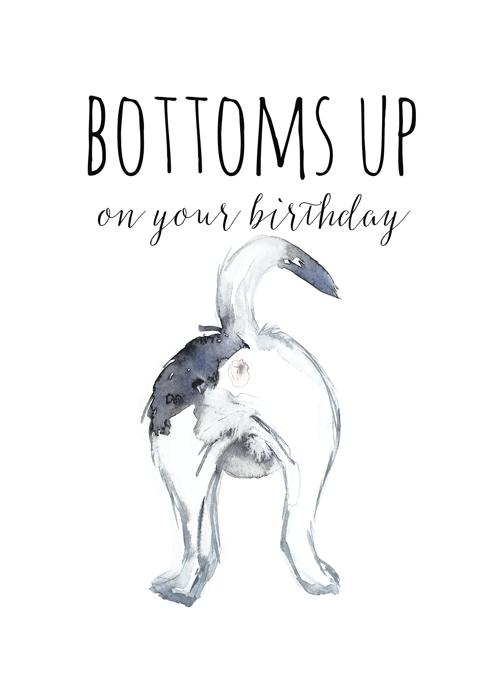 Bottoms Up Birthday