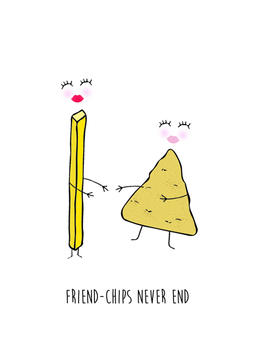 Friend-chips Never End