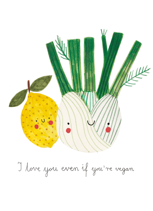 I Love You Even If You're Vegan