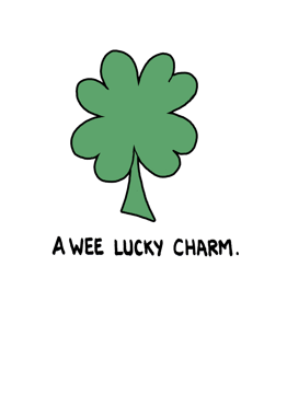 A wee lucky charm