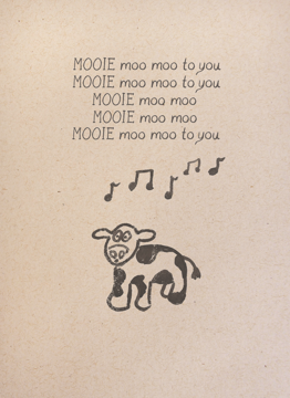 Birthday Song Cow