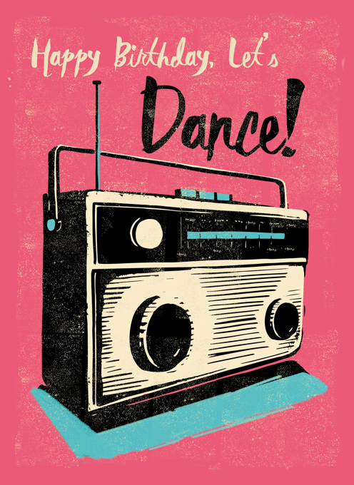Birthday Let's Dance Radio