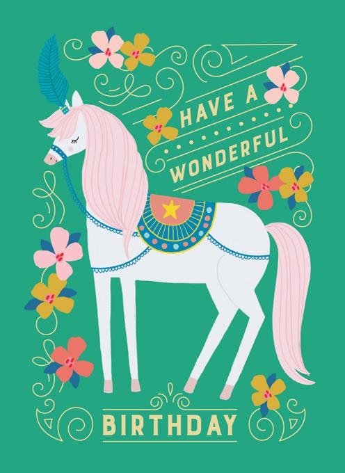 Circus Horse Birthday