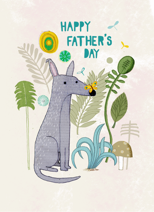 Father's Day Nature Dog