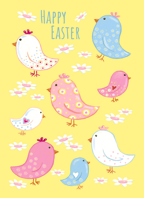 Easter Quirky Fun Chicks