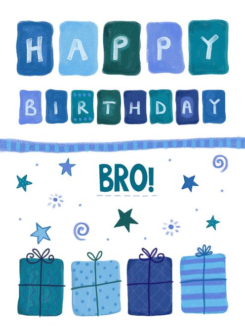 Birthday Bro (Brother)