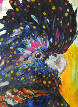 Original Art - Black Cockatoo