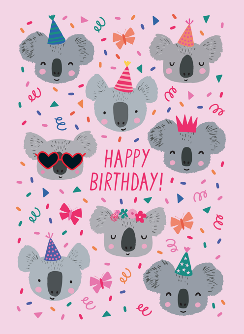 Birthday Koalas