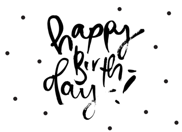 Happy Birthday Polkadots