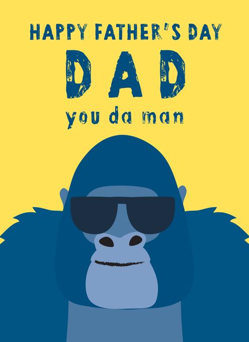 You Da Man Gorilla