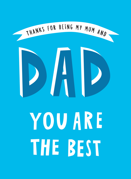 Dad Thank You For Being My Mum And Dad