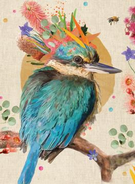 Native Grace - Kingfisher