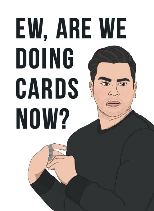 David Rose - Schitt's Creek Card