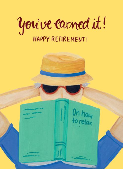 Happy Retirement - His