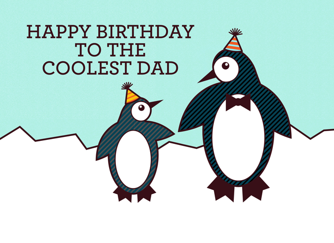 Happy Birthday to the coolest Dad