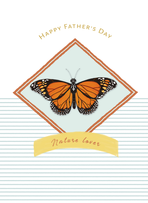 Nature Lover Father's Day Card