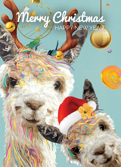 Merry Llama Christmas