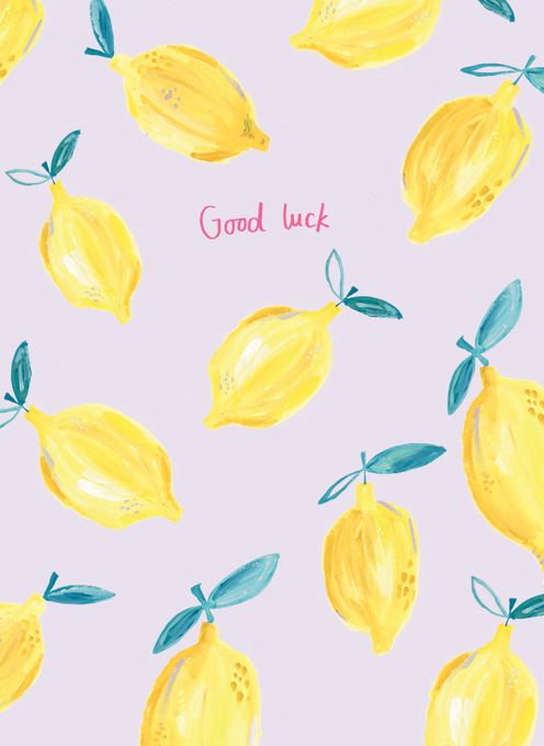 Good Luck lemons Pattern