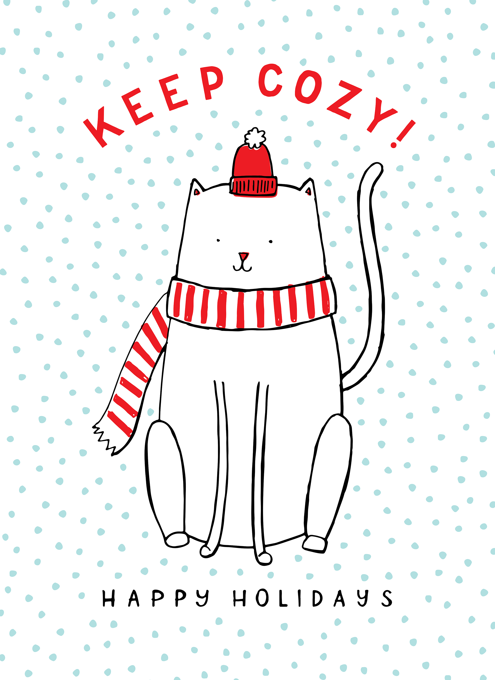 Keep Cozy Cat