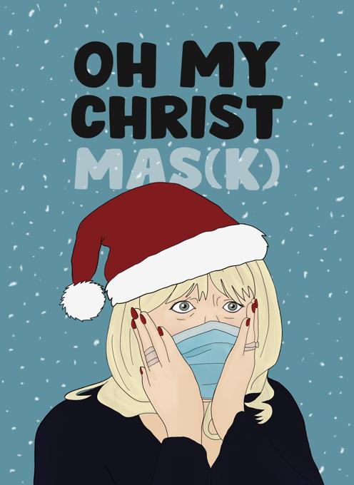 Gavin & Stacey - Pam Christmas Card