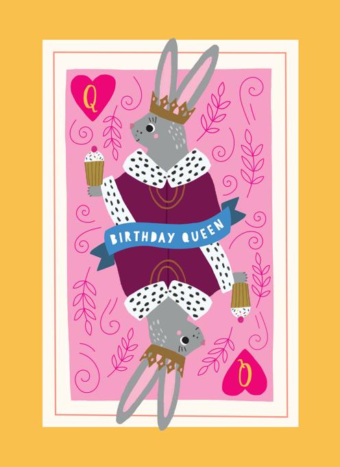 Birthday Rabbit Queen
