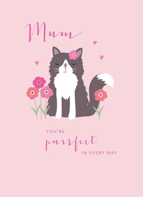 Purrfect Mum Cat