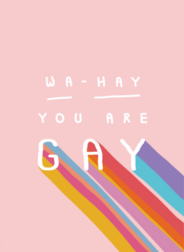 Wa Hey You Are Gay