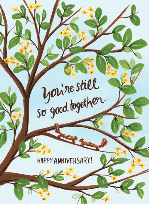 Still So Good Together - Anniversary Squirrels
