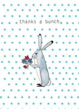 Thanks A Bunch - Hare
