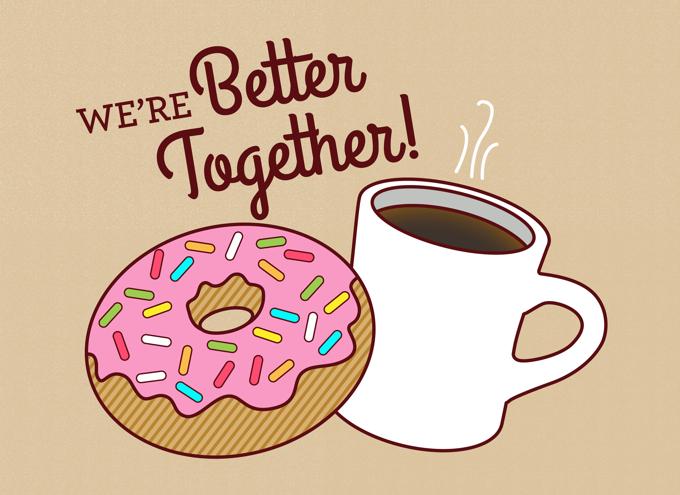 We're better together!