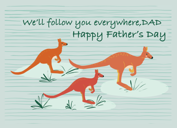 Father's Day Kangaroos