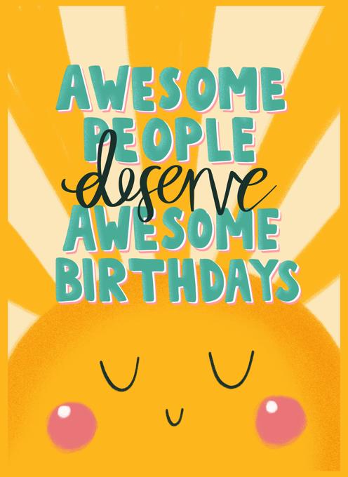 Awesome Birthdays