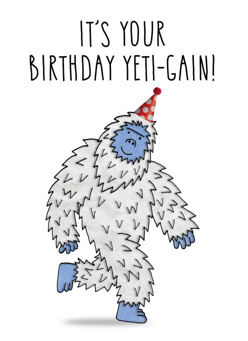 Birthday Yeti 'gain