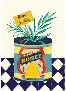 Birthday Vintage Honey