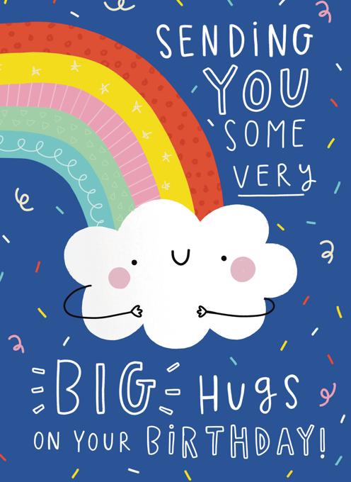Big Birthday Hugs