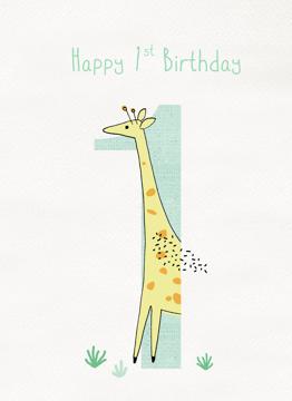 Giraffe 1st