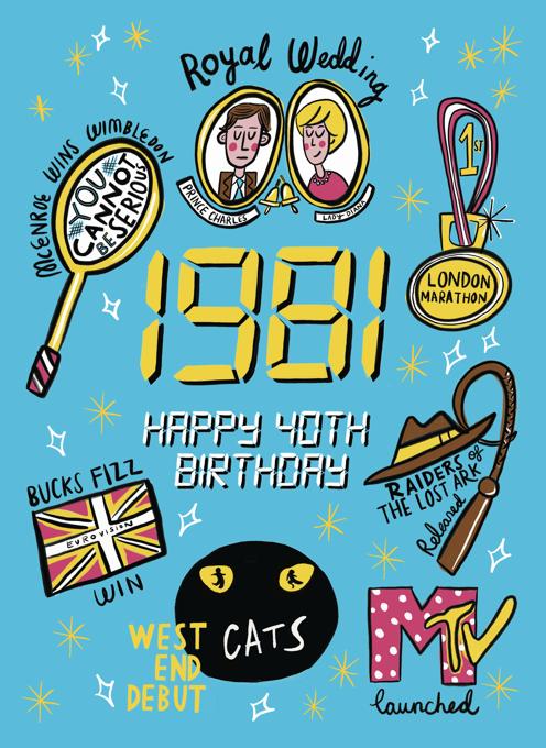 1981: Happy 40th Birthday!
