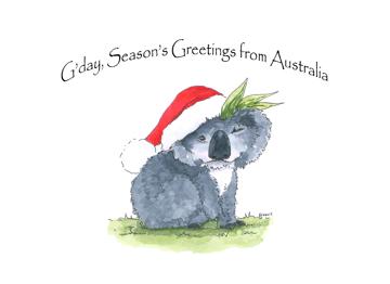 Season's Greetings From Australia