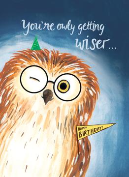 Birthday Owly Wiser