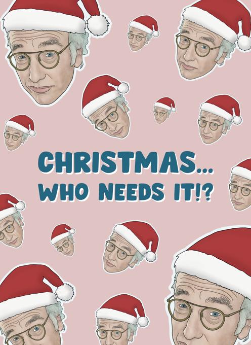Larry David Holiday Card