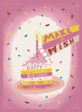 Cake Piece Birthday