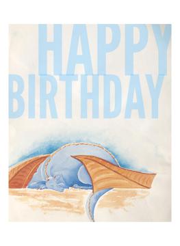 Dreamy Dragon Birthday Wishes