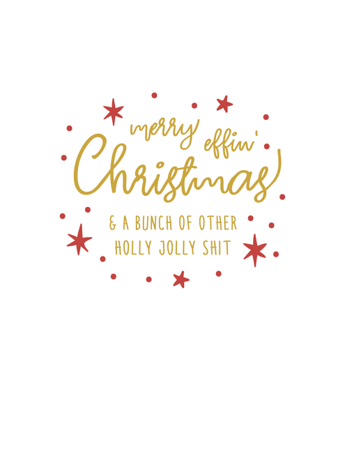 Merry Effin Christmas