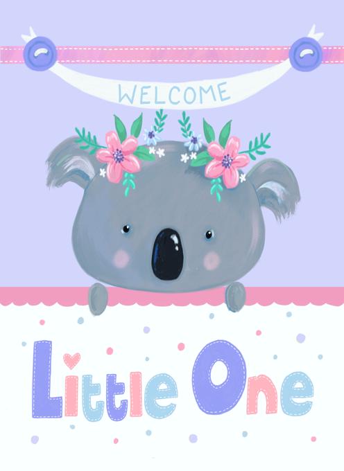 New Baby Koala